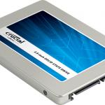 Crucial SSD MX300, MX200, BX200, MX100, BX100シリーズスペック比較