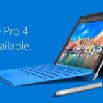 Surface Pro 4が価格改定で最大7万8000円値下げ。Surface Bookでは2万5000円キャッシュバックも