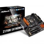 ASRockのZ170チップセット搭載microATXマザー「Z170M Extreme4」発売