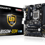 GIGABYTEのB150チップセット搭載マザー「GA-B150M-D3H」発売