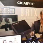 GIGABYTEがCore i7/USB3.1 type-C搭載「BRIX Vpro」をCES 2016で展示