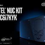Core i7-6770HQ+Iris Pro搭載NUC「NUC6i7KYK」発売