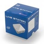 ECSのQi対応コンパクトPC「ECS LIVE STATION」発売
