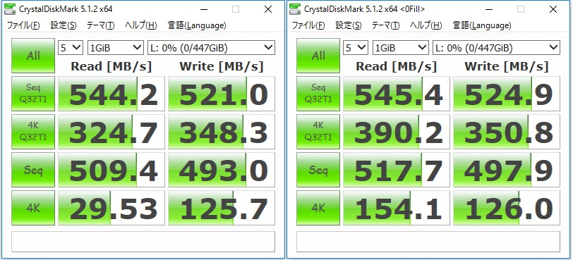 HyperX Savage SSD-bench5.