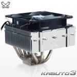 サイズのトップフロー型CPUクーラー「KABUTO3(SCKBT-3000)」発売