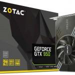 ZOTACの補助電源不要GTX950グラフィックスボード「ZOTAC GeForce GTX 950 Single Fan」発売