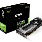 MSIよりGTX1080採用グラフィックスカード「GeForce GTX 1080 Founders Edition」発売