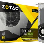 ZOTACのGTX1070グラボ「ZOTAC GeForce GTX 1070 Founders Edition」発売