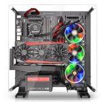 Thermaltakeのオープンフレーム型PCケース「Core P3」発売。縦置き・横置き・壁掛け設置対応
