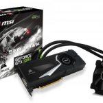 MSIのCorsair製ウォーターブロック採用GTX1080グラフィックスカード「GeForce GTX 1080 SEA HAWK X」発売