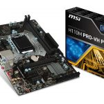 MSIのH110マザー「H110M PRO-VH PLUS」発売