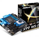 ASRockのX99ワークステーションマザー「X99 WS-E」発売