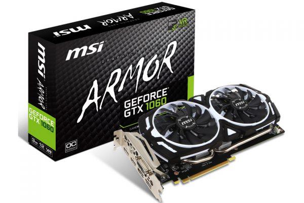 GeForce GTX 1060 ARMOR 3G OCV1