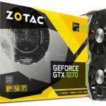 ZOTACより全長約210mmのGTX1070搭載グラボ「ZOTAC GeForce GTX 1070 Mini」発売