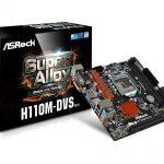 ASRockのH110マザー「H110M-DVS R3.0」発売