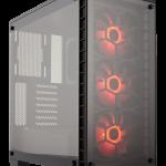 Corsairより強化ガラスパネル採用ミドルタワー型PCケース「Crystal 460X」シリーズ発売
