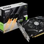 MSIよりGTX1050搭載の低価格OCモデル「GeForce GTX 1050 2G OC」発売