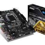 MSIよりM.2とUSB3.1 type-C搭載H110マザー「H110M-A PRO M2」発売