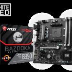 MSIよりRyzen対応AMD 350搭載マザー「B350M BAZOOKA」発売