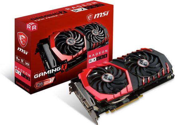 Radeon RX 580 GAMING X 8G