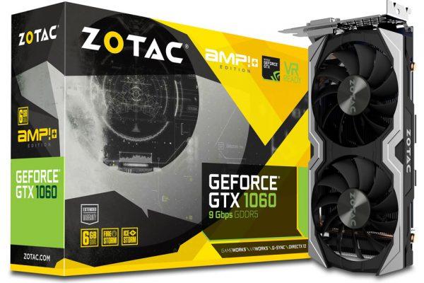 ZOTAC GeForce GTX 1060 6GB AMP Edition Plus