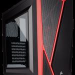 Corsairよりミドルタワー型PCケース「Carbide SPEC-04」発売。フロントパネルにアシンメトリーデザインを採用