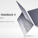 ファーウェイよりファンレス13型モバイルノートPC「HUAWEI MateBook X」発表