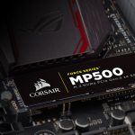 Corsairの東芝製MLC NAND搭載、読込最大3000Mb/sのNVMe M.2 SSD「MP500」シリーズ発売