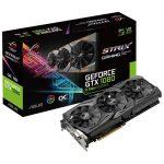 ASUSより防塵ファン搭載でOC仕様のGTX1080ビデオカード「ROG-STRIX-GTX1080-O8G-11GBPS」発売