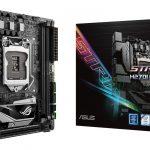 ASUSよりゲーマー向けのMini-ITXマザー「ROG STRIX H270I GAMING」発売