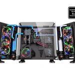 Thermaltakeのオープンフレーム型PCケース「Core P7 TG」発売。観音開きも可能