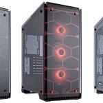CORSAIRのミドルタワー型PCケース「Crystal 570X RGB」にレッドとホワイトが追加