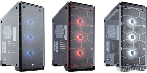 Crystal 570X RGB Red White