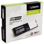 KingstonのNVMe PCIe SSD「KC1000」シリーズスペックまとめ