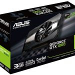 ASUSのGTX1060搭載ビデオカード「PH-GTX1060-3G」発売