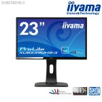iiyamaの23型液晶ディスプレイ「ProLite XU2390HS-3」「ProLite XUB2390HS-3」発売