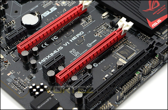 asus maximus vi hero pci express