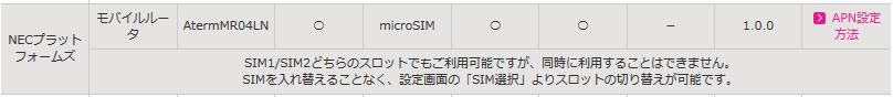 IIJmio-MR04LN