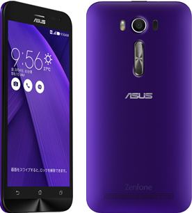 ZenFone2 Laser purple