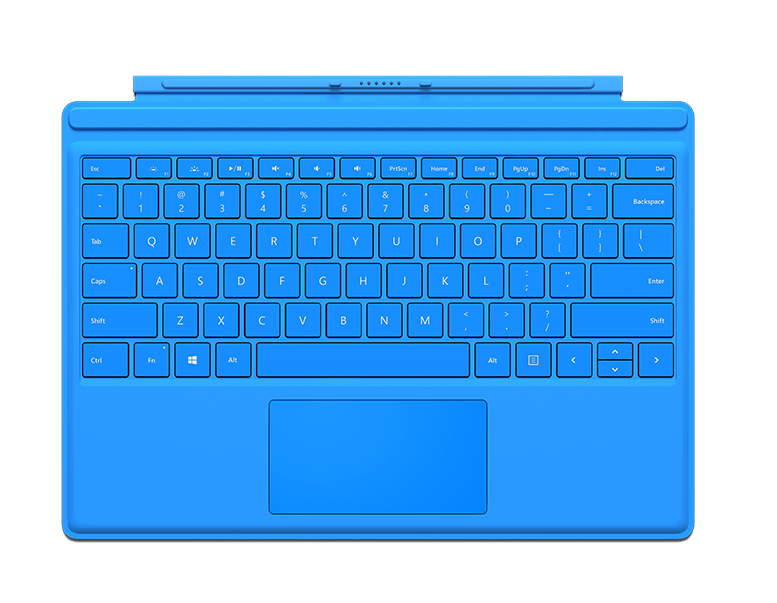 SurfacePro4-typeCover-cian