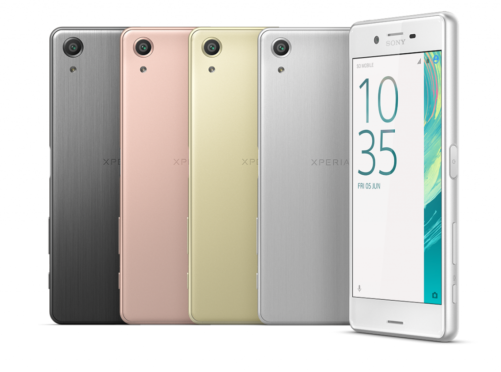 Xperia X Performance Colours