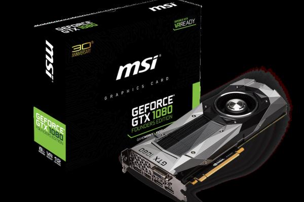 GeForce GTX 1080 Founders Edition.