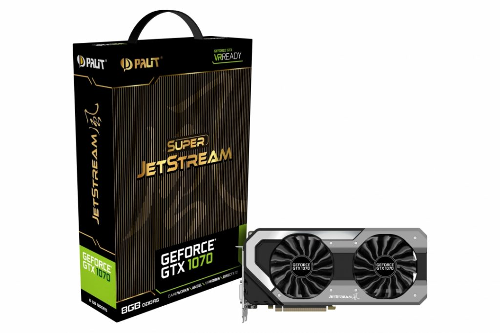 GeForce GTX1070 8GB Super JetStream