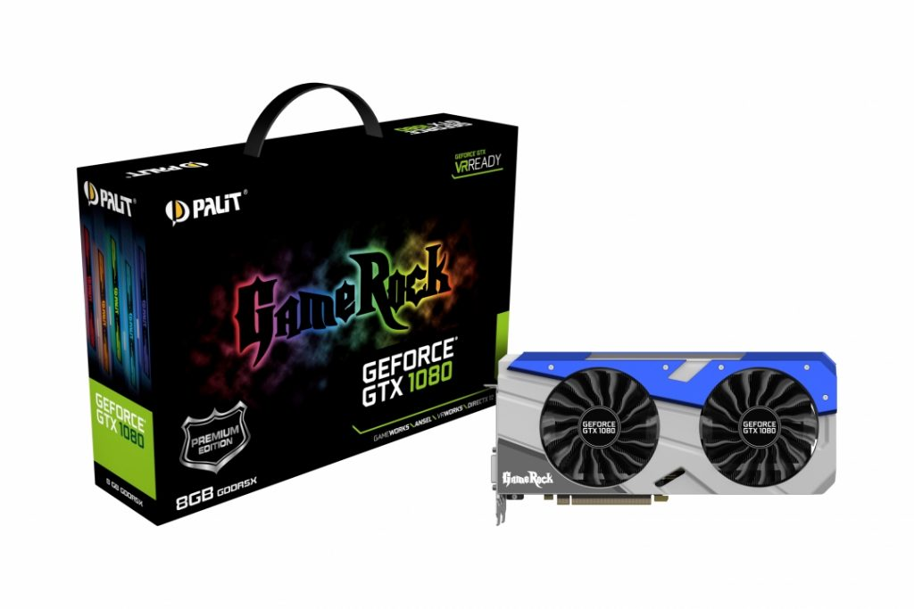 GeForce GTX1080 8GB GameRock Premium Edition