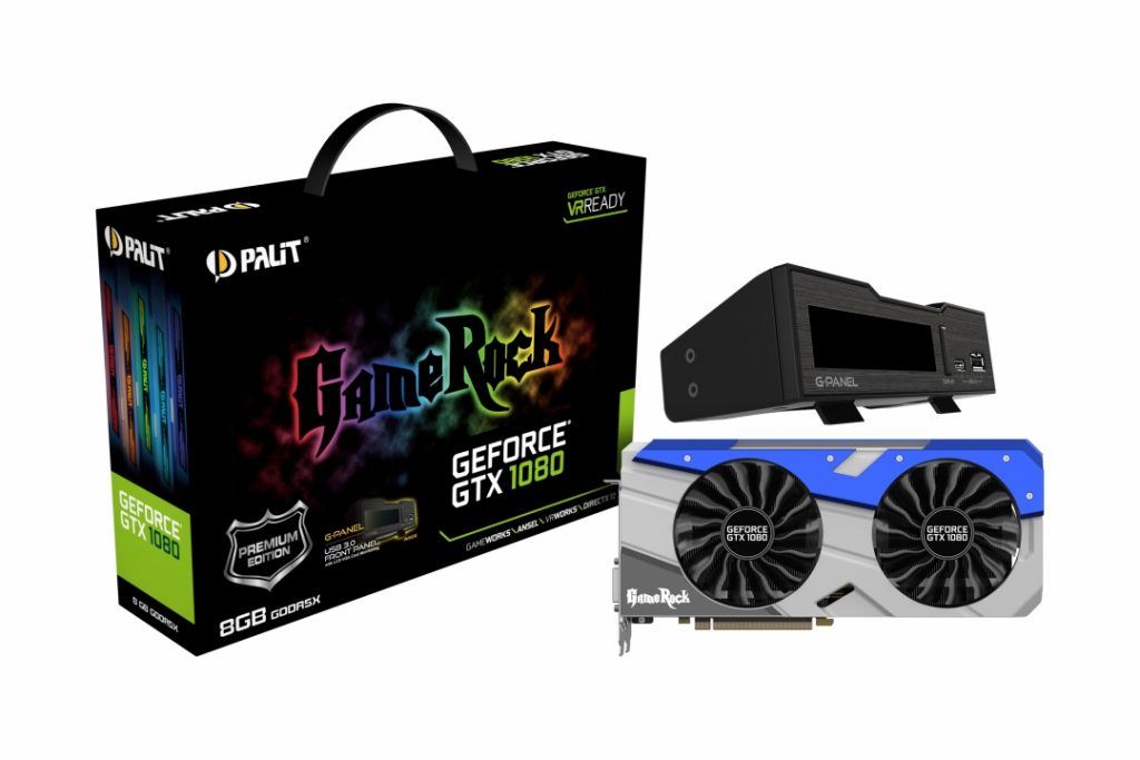GeForce GTX1080 8GB GameRock Premium Edition-Gpanel