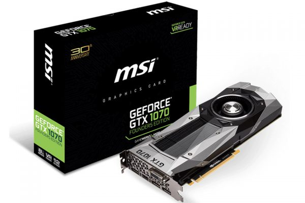 MSI-GeForce GTX 1070 Founders Edition