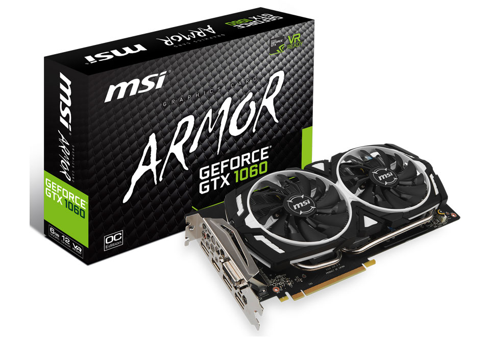 GeForce GTX 1060 ARMOR 6G OC