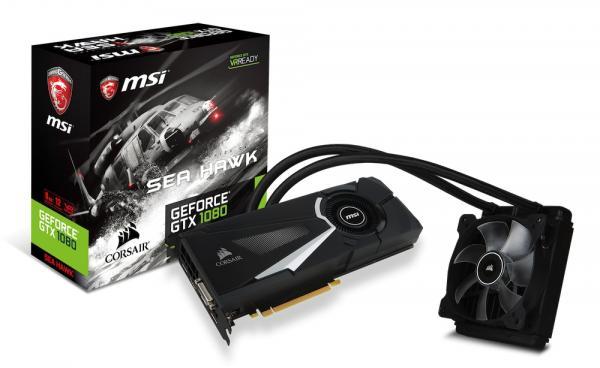 GeForce GTX 1080 SEA HAWK X