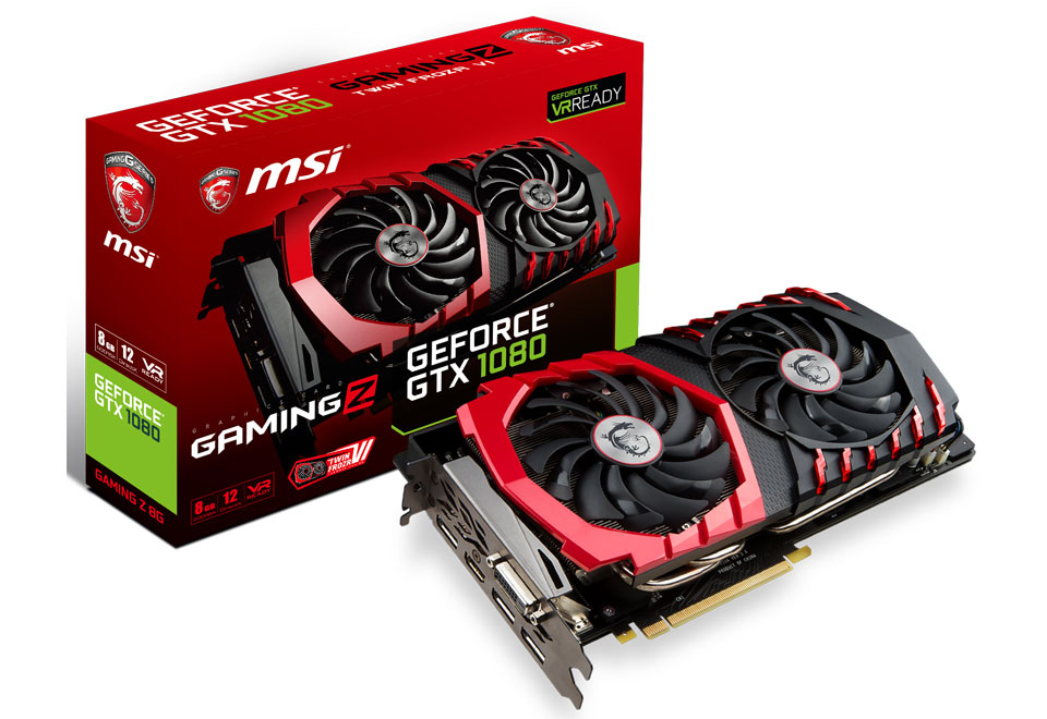 GeForce GTX 1080 GAMING Z 8G