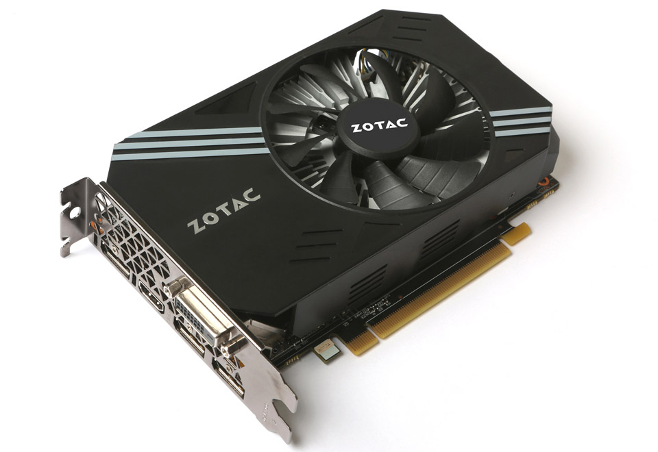 ZOTAC GeForce GTX 1060 3GB Mini-1